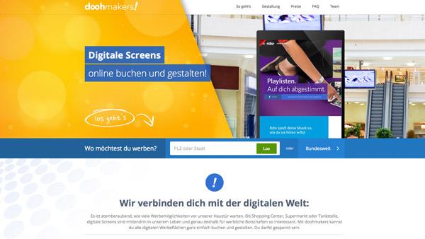 Awk Aussenwerbung Doohmakersde Digitale Screens Online Buchen